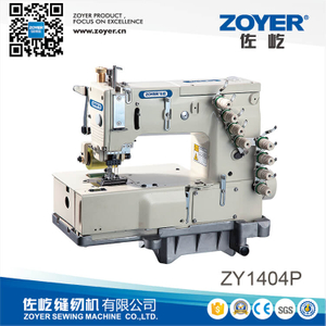 ZY 1404P Zoyer 4-Needle Flat-Bed Double Chain Stitch Sewing Machine