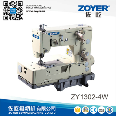 ZY1302 Zoyer 2-needle double chain stitch zig-zag machine