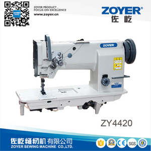 ZY4420 zoyer double needle heavy duty compound feed lockstitch