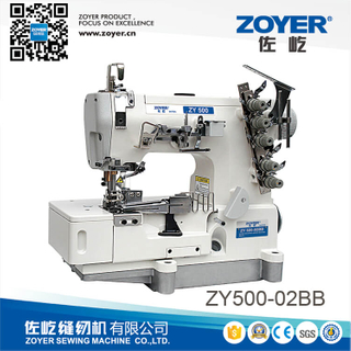 ZY500-02BB Zoyer rolled-edge stretch interlock sewing machine