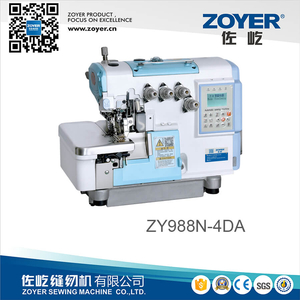 ZY988N-4DA Full automatic mechatronics high speed computerized overlock sewing machine
